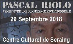 Conférence : ce samedi 29 septembre 2018