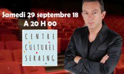 Grand retour au Centre Culturel de Seraing (Conférence)